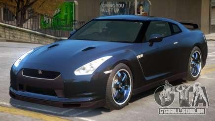 Nissan GTR R35 V1.1 para GTA 4