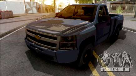 Chevrolet Silverado Single Cab 2010 para GTA San Andreas