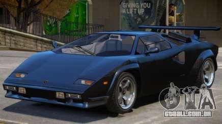 Lamborghini Countach (NFS World) para GTA 4