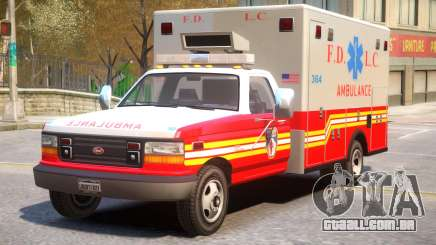 Vapid Ambulance Retro v1.1 para GTA 4