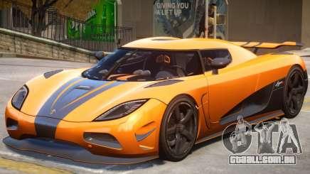 Koenigsegg Agera R2 para GTA 4