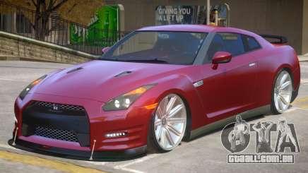 Nissan GTR AMS para GTA 4