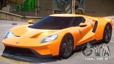 Ford GT V2 para GTA 4