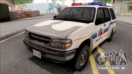 Ford Explorer 1995 Hometown Police para GTA San Andreas