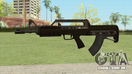 Bullpup Rifle (With Flashlight V1) GTA V para GTA San Andreas
