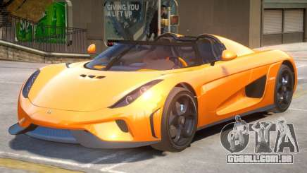 Regera Improved V2 para GTA 4