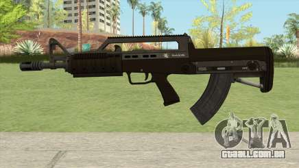 Bullpup Rifle (Base V1) GTA V para GTA San Andreas