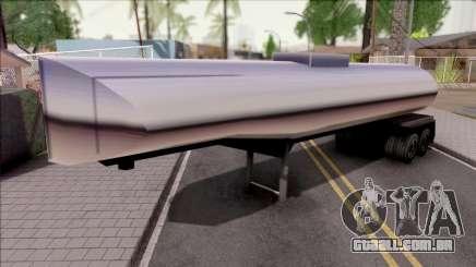 New Petro Trailer SA Style para GTA San Andreas