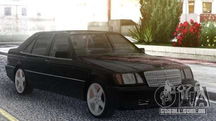Mercedes-Benz S600 W140 Black Series para GTA San Andreas
