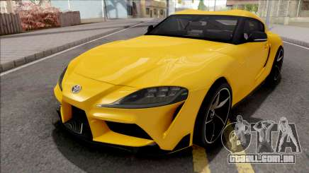 Toyota GR Supra 2019 para GTA San Andreas