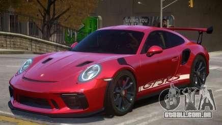 2018 Porsche 911 GT3 RS v1.1 para GTA 4