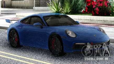 Porsche 911 Carrera S 2019 para GTA San Andreas