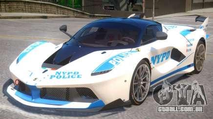 Ferrari FXX-K Police para GTA 4