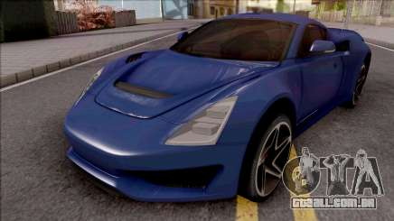 Saleen S1 2018 Blue para GTA San Andreas