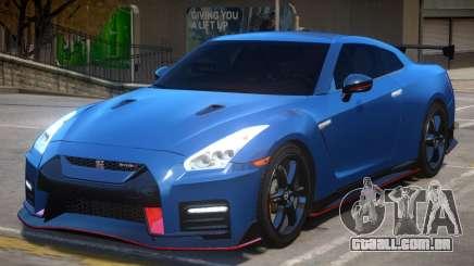 2018 Nissan GT-R Nismo v1.2 para GTA 4
