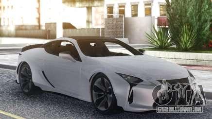 Lexus LC500 para GTA San Andreas