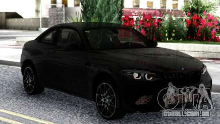 BMW M2 Competition Coupe 2019 Black para GTA San Andreas