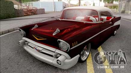 Chevrolet Bel Air 1957 Low para GTA San Andreas