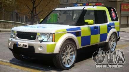 Land Rover Police para GTA 4