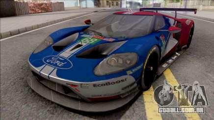 Ford GT 2019 Le Mans para GTA San Andreas