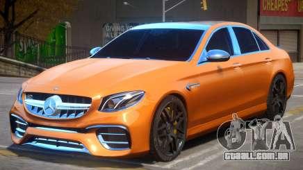 Mercedes Benz E63 AMG W213 para GTA 4