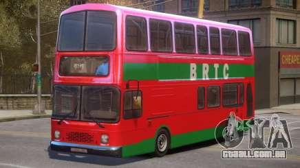 BRTC Double Decker Bus para GTA 4