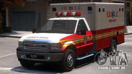 Vapid Sadler Ambulance V2 para GTA 4