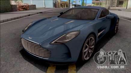 Aston Martin One-77 2012 para GTA San Andreas