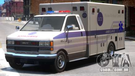 Ambulance Bohan Medical Center para GTA 4