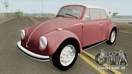 Volkswagen Fusca 75 (Conversivel) para GTA San Andreas