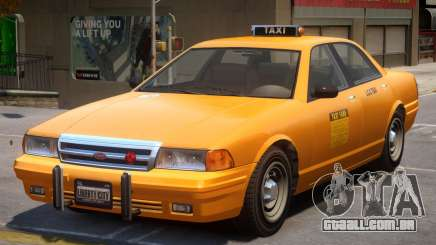 Vapid Stanier Taxi Classic para GTA 4
