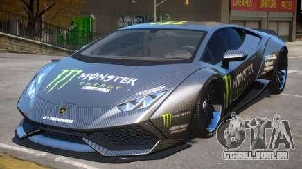 Lamborghini Huracan PJ Monster para GTA 4