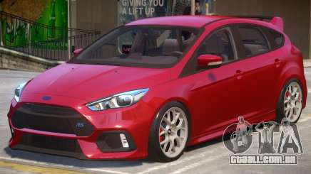 Ford Focus RS V2 para GTA 4