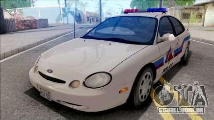 Ford Taurus 1996 Hometown Police para GTA San Andreas