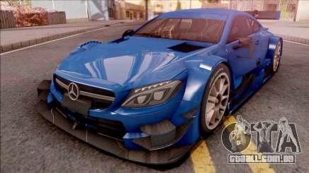 Mercedes-Benz C63 AMG 2017 Touring Car para GTA San Andreas