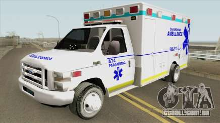 Ford E350 (San Andreas Ambulance) para GTA San Andreas