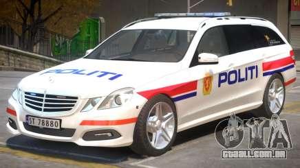 Mercedes Benz E63 Police para GTA 4