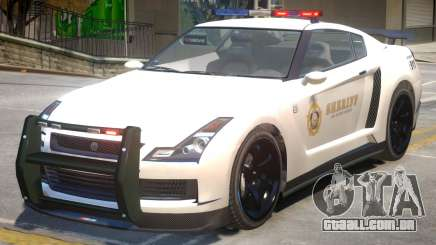 Annis Elegy RH8 Sheriff para GTA 4