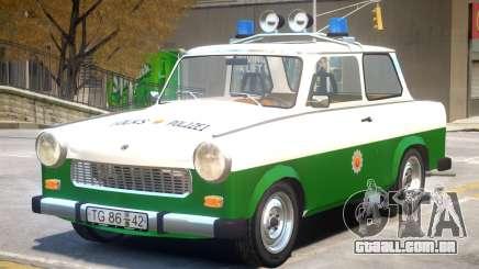 1981 Trabant Police para GTA 4