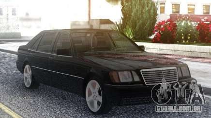 Mercedes-Benz S600 W140 Original Black para GTA San Andreas