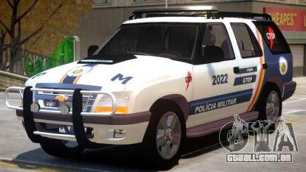 Chevrolet Blazer Police para GTA 4