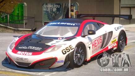 McLaren MP4 PJ3 para GTA 4