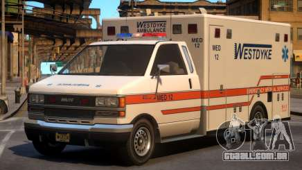Ambulance Westdyke EMS para GTA 4