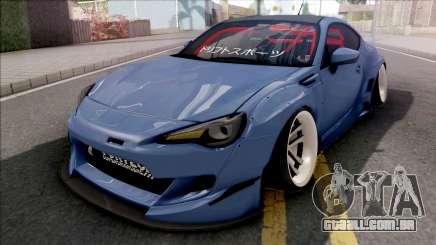 Subaru BRZ Blue para GTA San Andreas