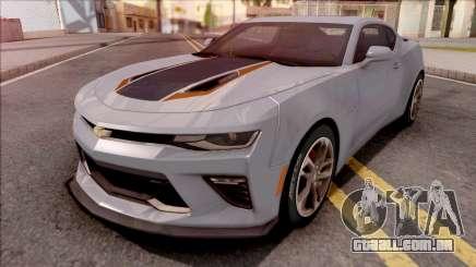 Chevrolet Camaro SS 2017 Grey para GTA San Andreas