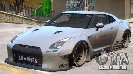 Nissan GT-R R35 para GTA 4