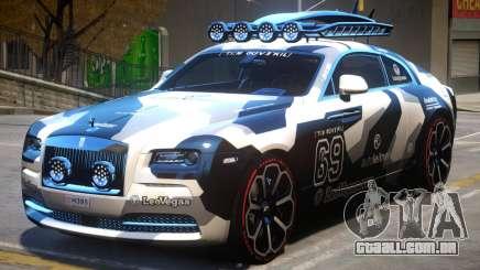 Rolls Royce Wraith 2014 V2 para GTA 4