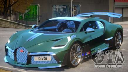2019 Bugatti Divo para GTA 4