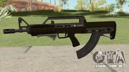 Bullpup Rifle (With Grip V2) GTA V para GTA San Andreas