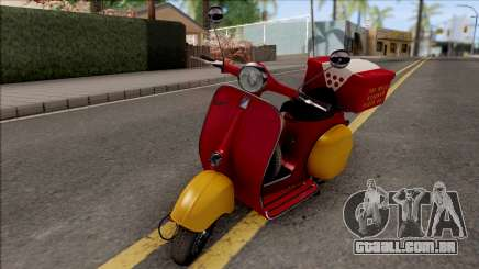 Piaggio Vespa VNB 125 Pizzaboy HQLM para GTA San Andreas